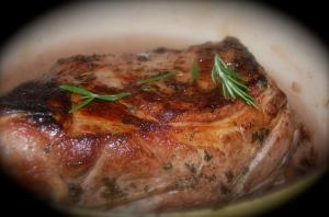 Pork Butt Italian Style