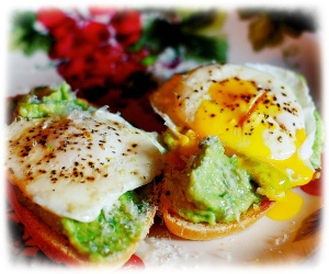 Avocado Egg Toasts