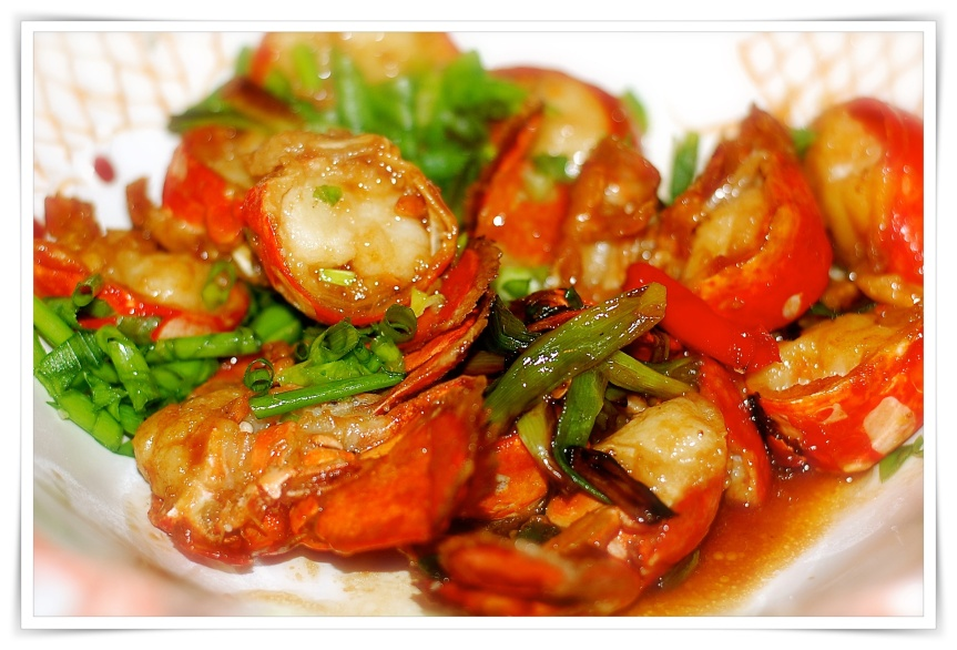 Cantonese lobster 2