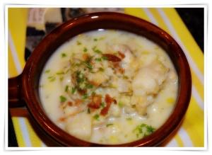 Clam chowder 2