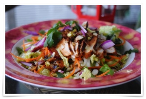 Asian Grilled Chicken Salad 3