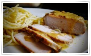 Reverse sear pork