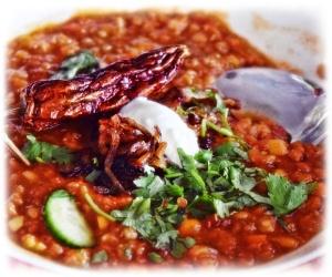 Moroccan Lentil soup 2