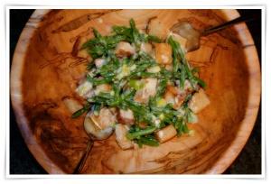 asparagus-panzanella